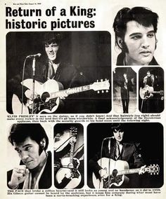 Elvis Presley - Opening night (Thursday, July 31, 1969) and press conference (Friday, August 1st., 1969) at the International Hotel in Las Vegas, NV