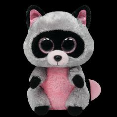 Ty Beanie Boos ROCCO The Raccoon 6