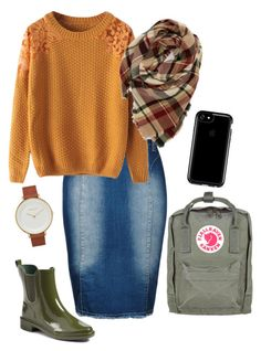 """""""//Lets Hang Out"""" by modestgems ❤ liked on Polyvore featuring City Chic, Chicnova Fashion, Evelyn K, Skagen, Tory Burch, Fjällräven, Speck and plus size clothing"""