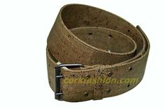 Cork Belt (model GL0104003011) - Eco-friendly - made of real cork. From www.corkfashion.com