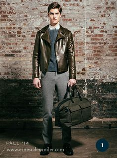 My favorite Ernest Alexander look for Fall '14. Enter to win one. #InTheBag