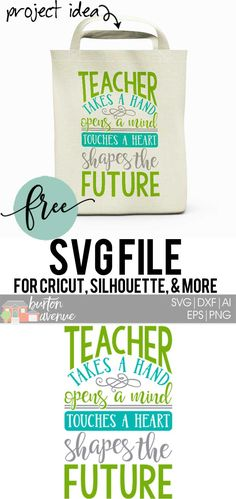 So many possibilities of Teacher DIY projects with this FREE Teacher Shapes the Future SVG file download. Make t-shirts, mug, signs, pillows, and more for that special teacher with this FREE SVG file. Teacher Shapes the Future Ai, SVG, PNG, EPS & DXF download. Teacher Shapes the Future SVG file, Free SVG file works with Cricut, Cameo Silhouette and other major cutting machines. Free cut file download