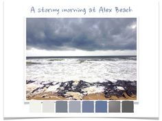 The Sunshine Coast Design Post - Blog On! — Rubykite Interiors. Stormy Alex beach.