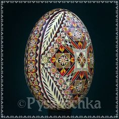 Real Ukrainian Pysanka Turkey Pysanky Best by Halyna Easter Egg | eBay