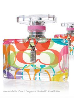 I think Malia would have this in her #Caboodle. Every girl needs purfume and I just love this colorful purfume bottle.