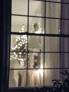 peeking in the window
