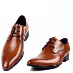 Leather Derby 9689 For Men