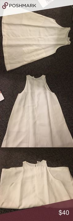 Wilfred White Dress Worn once Aritzia Dresses