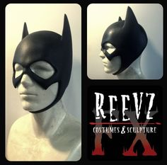 Batgirl cowl by ReevzFX- expensive