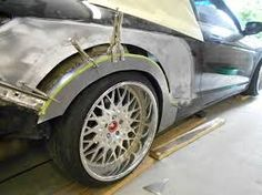 diy wheel flares - Google Search Wheel Flares, Metal Welding, Fender Flares, Wide Body, Metal Fabrication, Body Mods, Car Stuff, Sport Cars, Cars And Motorcycles