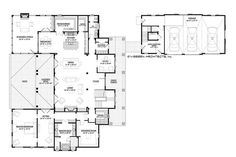 This country design floor plan is 4852 sq ft and has 4 bedrooms and has bathrooms. Low Country Homes, Country Style House Plans, Dream House Plans, House Floor Plans, Country Houses, Victorian House Plans, Shingle Siding, Farmhouse Plans, Rustic Farmhouse