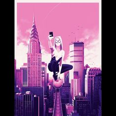 Spider-Gwen by justinericksonart