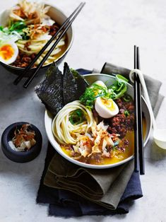 Japanese egg and pork curry soup Mince Recipes, Curry Recipes, Asian Recipes, Soup Recipes, Ethnic Recipes, Japanese Recipes, Pork Curry, Curry Soup, Sashimi