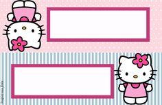Hello Kitty – Kit festa infantil grátis para imprimir | Inspire sua festa Hello Kitty Backgrounds, Hello Kitty Wallpaper, Hello Kitty Fotos, Hello Kitty Invitations, Notebook Labels, School Labels, Hello Kitty Pictures, Hello Kitty Birthday, Cat Party