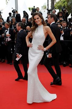 Izabel Goulart by Ralph & Russo - Cannes 2017