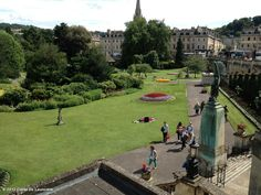 Loved this gorgeous park in Bath!