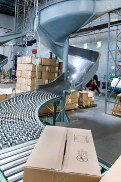 Apparel Warehouse, Third Party Logistics Warehousing Facility Tour in Texas #apparel #warehouse #wholesale