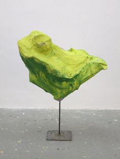 mrkiki:  Franz WestUntitled, 2012Steel, cardboard, paper mache, acrylic paint493/16 x 389/16 x 259/16 inches (125 x 98 x 65cm) VIA