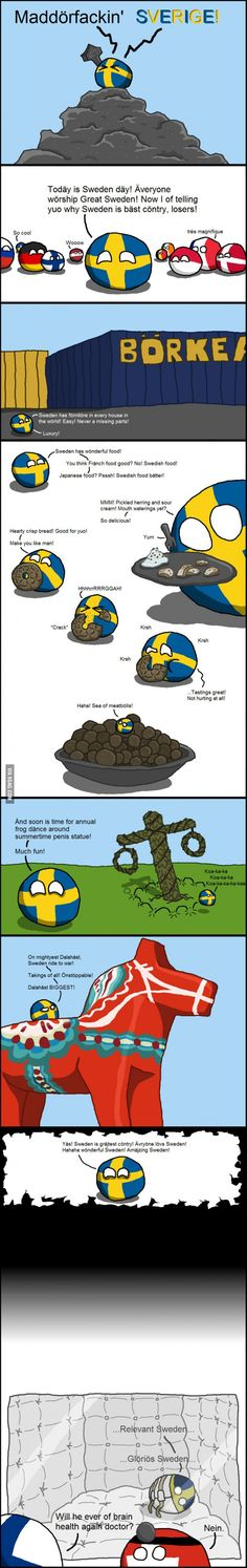 Countryball Sweden introduces itself!