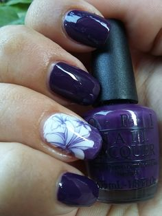 My Monday Affair with OPI A Grape Affair