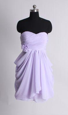 A-line empire waist chiffon dress for summer fashion