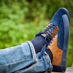 Robert Lace-Up Saddle Shoes