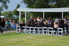 Love outdoor weddings!  Belle Salle