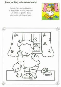 Zwarte Piet, wiedewiedewiet - New Ideas Saint Nicolas, Homeschool, Poster, Snoopy, Comics, Pets, Happy, Fictional Characters, Google