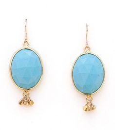 Caribbean Blue Earrings - Elephant Heart Jewelry