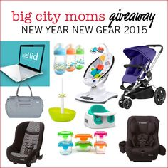 @bigcitymoms Giveaway- New Year New Gear http://www.bigcitymoms.com/blog/archive/2015/01/2015-new-year-new-gear-giveaway.html
