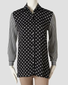 ebc5aa2d7d8 Dot Stripe Button Front Tunic at stein mart. LOVE For Less, Cute Fashion,