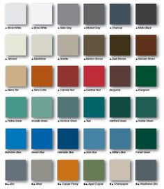 How to Pick the Right Metal Roof Color: Consumer Guide   MetalRoofing.Systems – Metal Roofing Systems