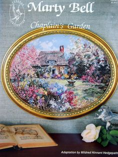 Chaplain's Garden By Marty Bell Vintage Cross by NeedANeedle, $7.75