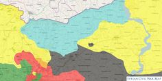 Latest Situation in Northern #Aleppo after new #SDF offensive towards Al-Bab. Situation very fluid.  Map: syriancivilwarmap.com