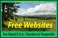 Rural Charities Org provides free and low-cost websites for rural U.S.A. charities & nonprofits. Here is our Facebook page. https://www.facebook.com/ruralwebsites #rural #charities #nonprofits