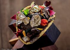 A moment on the lips... The Grand Velas Los Cabos resort in Mexico is serving up a very expensive taco - the tortilla dish is stuffed with pricey Kobe beef, caviar, lobster and gold leaf