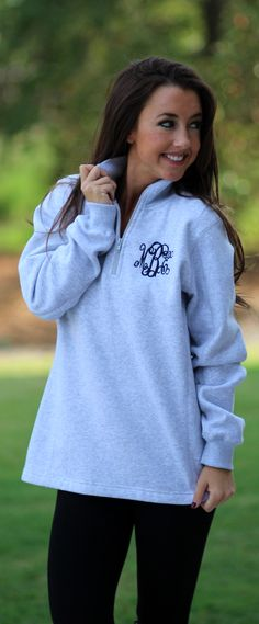 This Heather Pullover is on SALE! Get it now, Sweatshirt Sale ends tonight!
