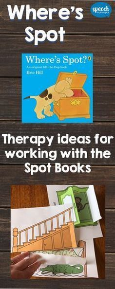 Who else is in love with Spot the Dog from the Where's Spot Series? Great books for working on a range of language and speech targets. Read on for therapy ideas.