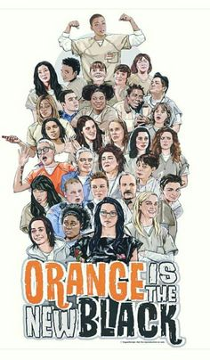 OITNB Netflix, Alex And Piper, Orange Is The New Black, Film Serie, Comic Covers, Favorite Tv Shows, Entertaining, Movies, Films