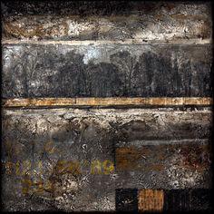 Adrian Lane: On The Horizon Mixed Media on Canvas 30cm x 30cm