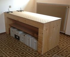 Ein ähnliches Projekt wie von Holzwerken- fast baugleich - aber mehr auf Festool MFT bezogen