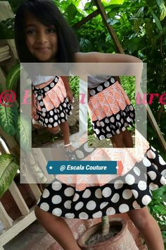 Girly Fun ...with......polka dots  and neon skirt @Escala couture