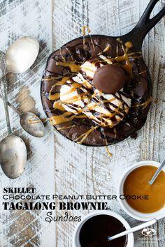 Skillet Chocolate Pe