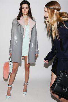 Kendall Jenner and Gigi Hadid Versace - Backstage - Milan Fashion Week FW16