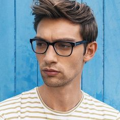 George Le Page in Rhapsody Optics in Turquoise.