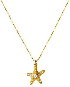 Juicy Couture Starfish Wish Necklace
