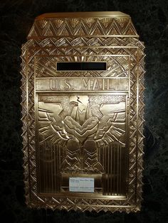 Art Deco Mail Box II by Joanna Paterson, via Flickr