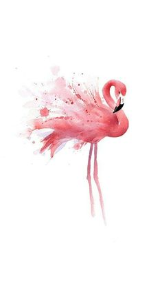Acrylic Painting Canvas, Diy Painting, Four Seasons Painting, Flamingo Painting, Paint By Number Kits, Watercolor Bird, Watercolor Artwork, Cross Paintings, Pictures To Paint