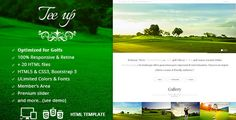 This Deals Tee Up - Golf HTML5 Template lowest price for you. In addition you can compare price with another store and read helpful reviews. Buy