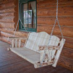 Found it at Wayfair - Montana Woodworks® Montana Porch Swing with Chainshttp://www.wayfair.com/Montana-Woodworks%25C2%25AE-Montana-Porch-Swing-with-Chains-MWLSC-MWLSCV-HFA1506.html?refid=SBP